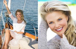 celebrity portrait of Christie Brinkley